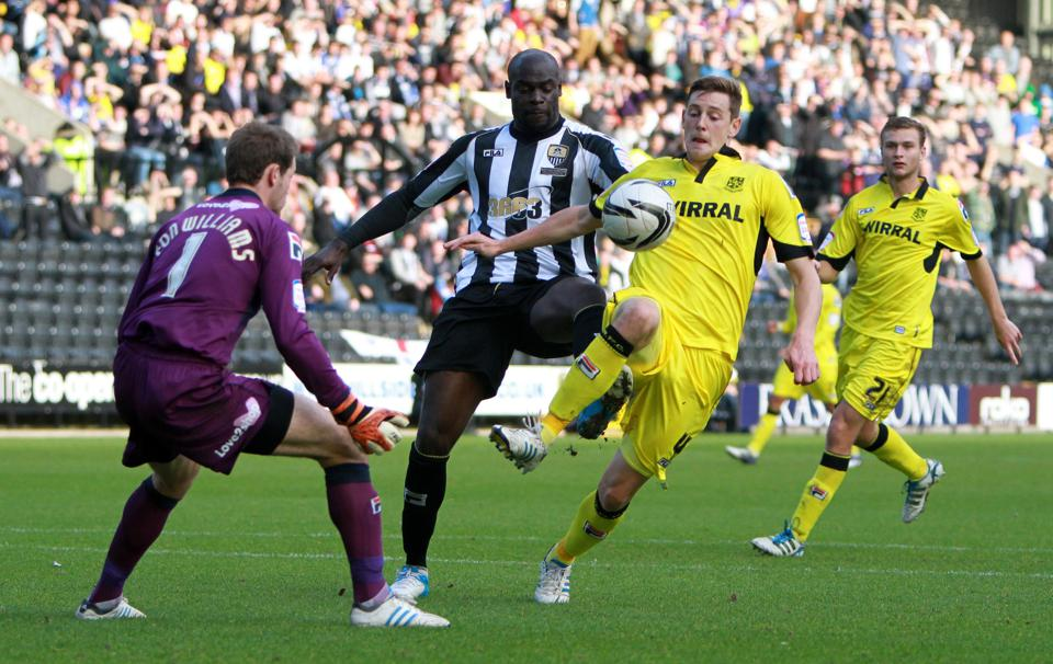 Soccer - npower Football League One - Notts County v Tranmere Rovers - Meadow Lane