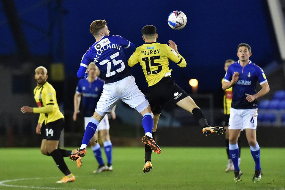Oldham Athletic v Harrogate Town - Sky Bet League 2