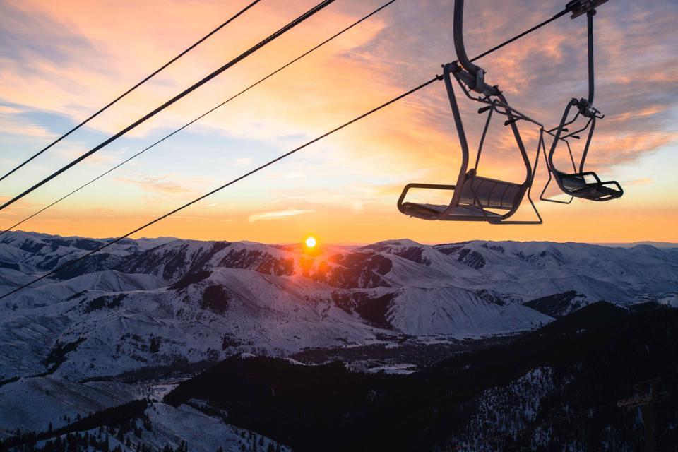 Chairlift Sunrise - Sun Valley, Idaho