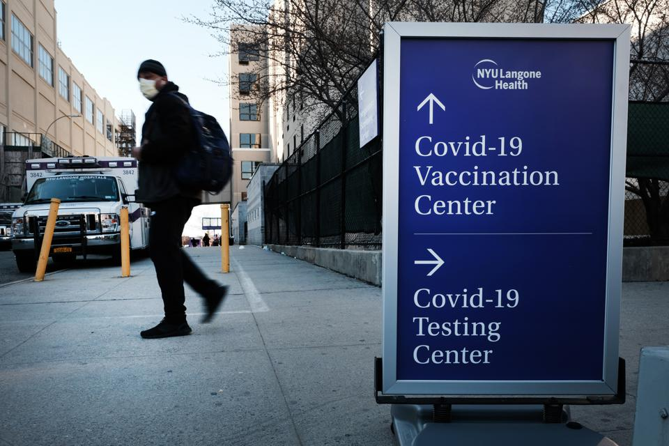 Vaccinations Continue In New York As Governor Cuomo Announces New Eligibility