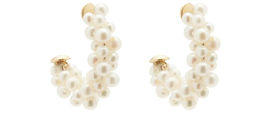 Lady Pearl Earrings by Yvonne Léon: