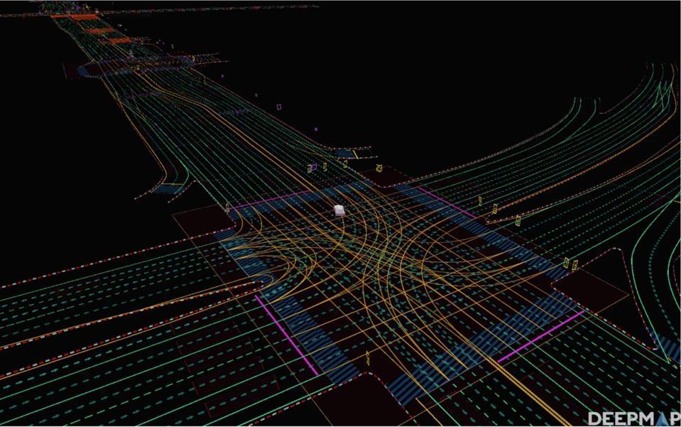 DeepMap robocar map