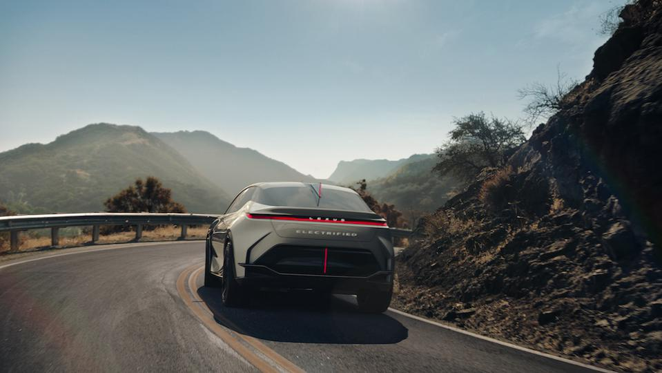 Lexus 2021 LF-Z Electrified concept car