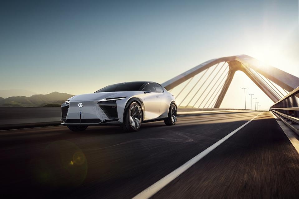 The Lexus LF-Z Electrified concept