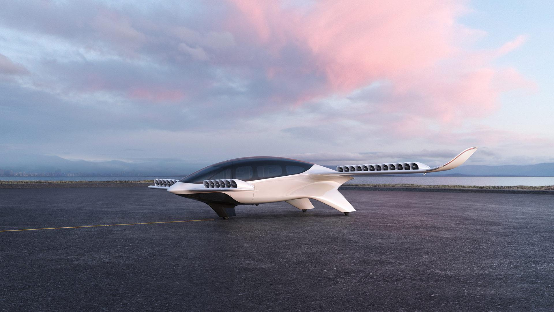 Lilium's unveiled a new seven seat version of its battery-powered air taxi