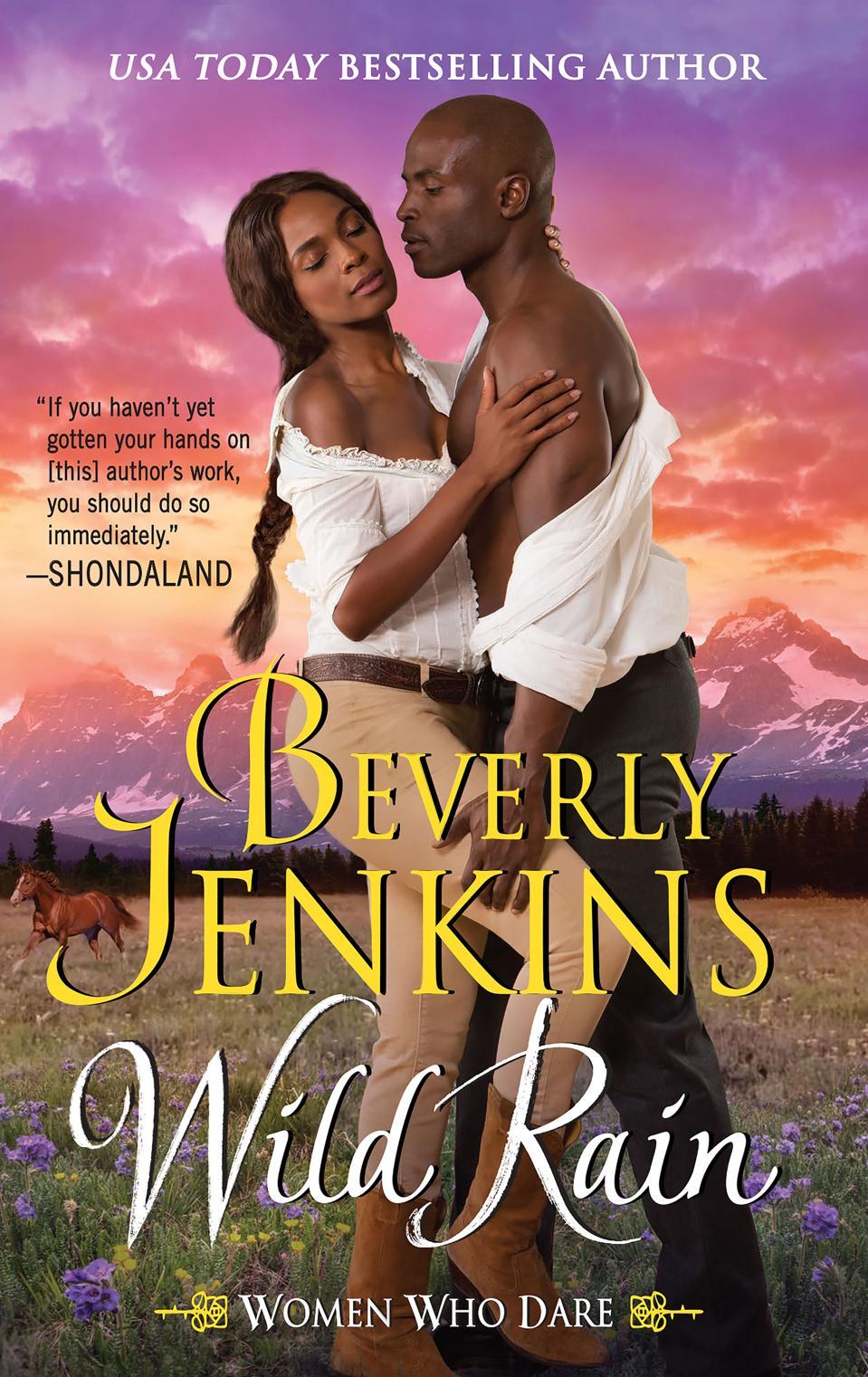 beverly jenkins wild rain historical romance wyoming territory