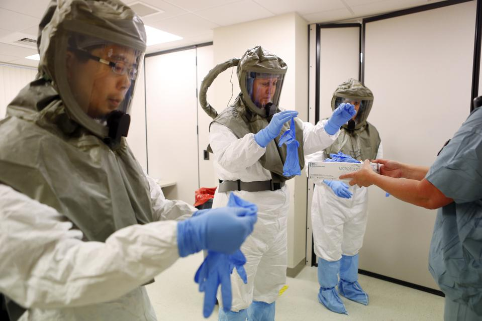 With Ebola Looming, A Visit To The No-Mistake Zone