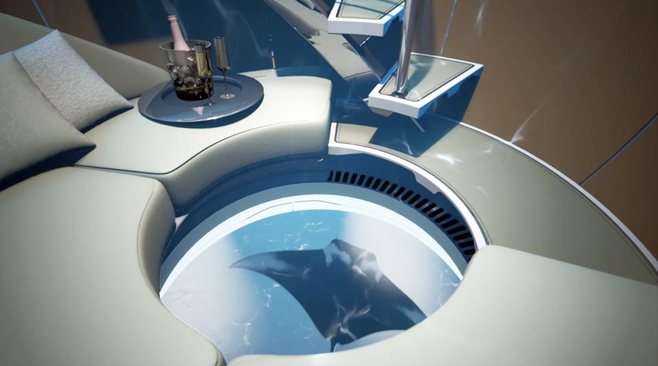 The Hydrosphere has 360-degrees underwater views