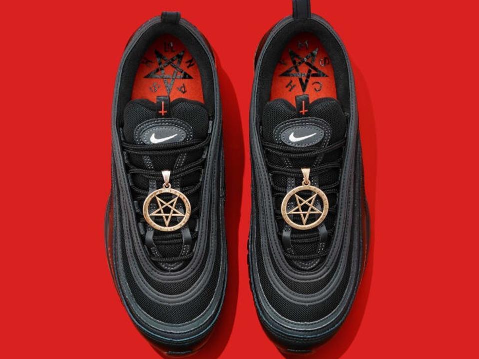 MSCHF x Lil Nas X Air Max 97 ″Satan Shoes″
