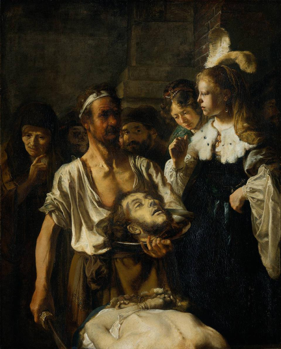 ″The Beheading of John the Baptist″ by Rembrandt