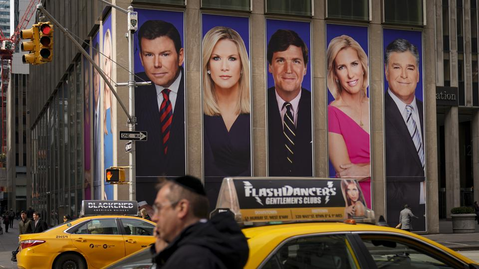 Protestors Call On Advertisers To Pull Their Ads From Fox News