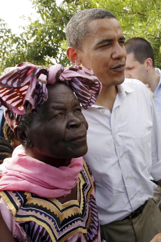Kenya Obit Obama Grandmother