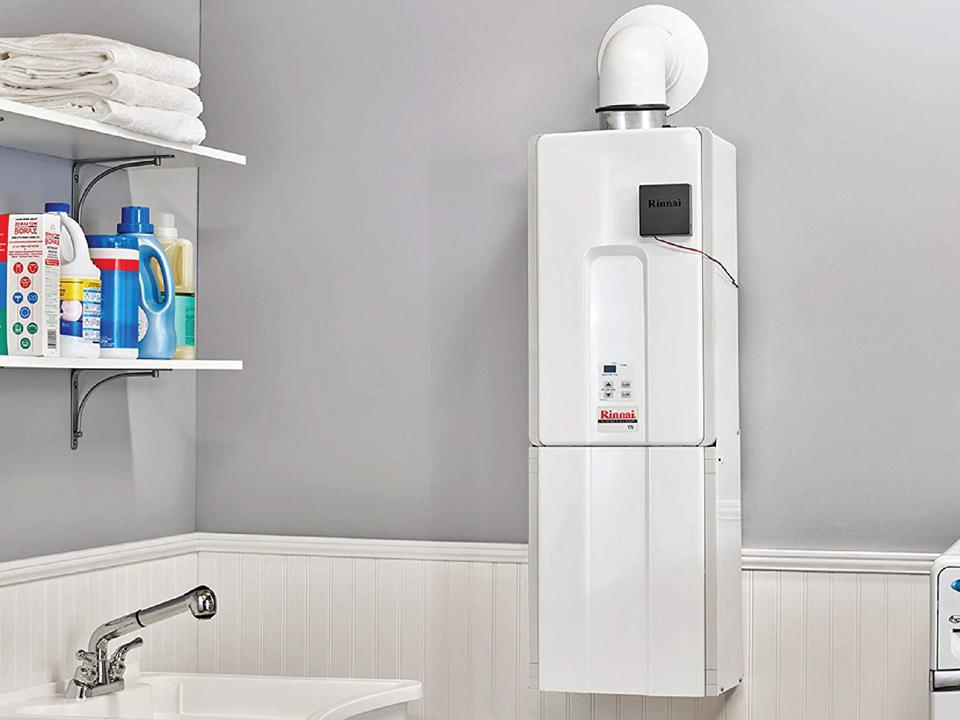Rinnai Indoor Tankless Hot Water Heater