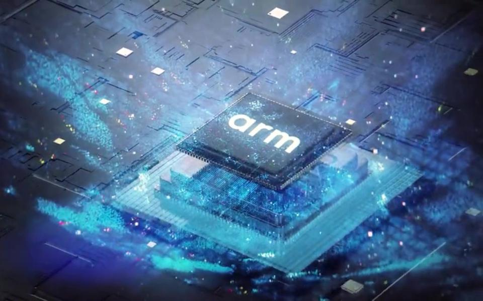 Image of semiconductor chip