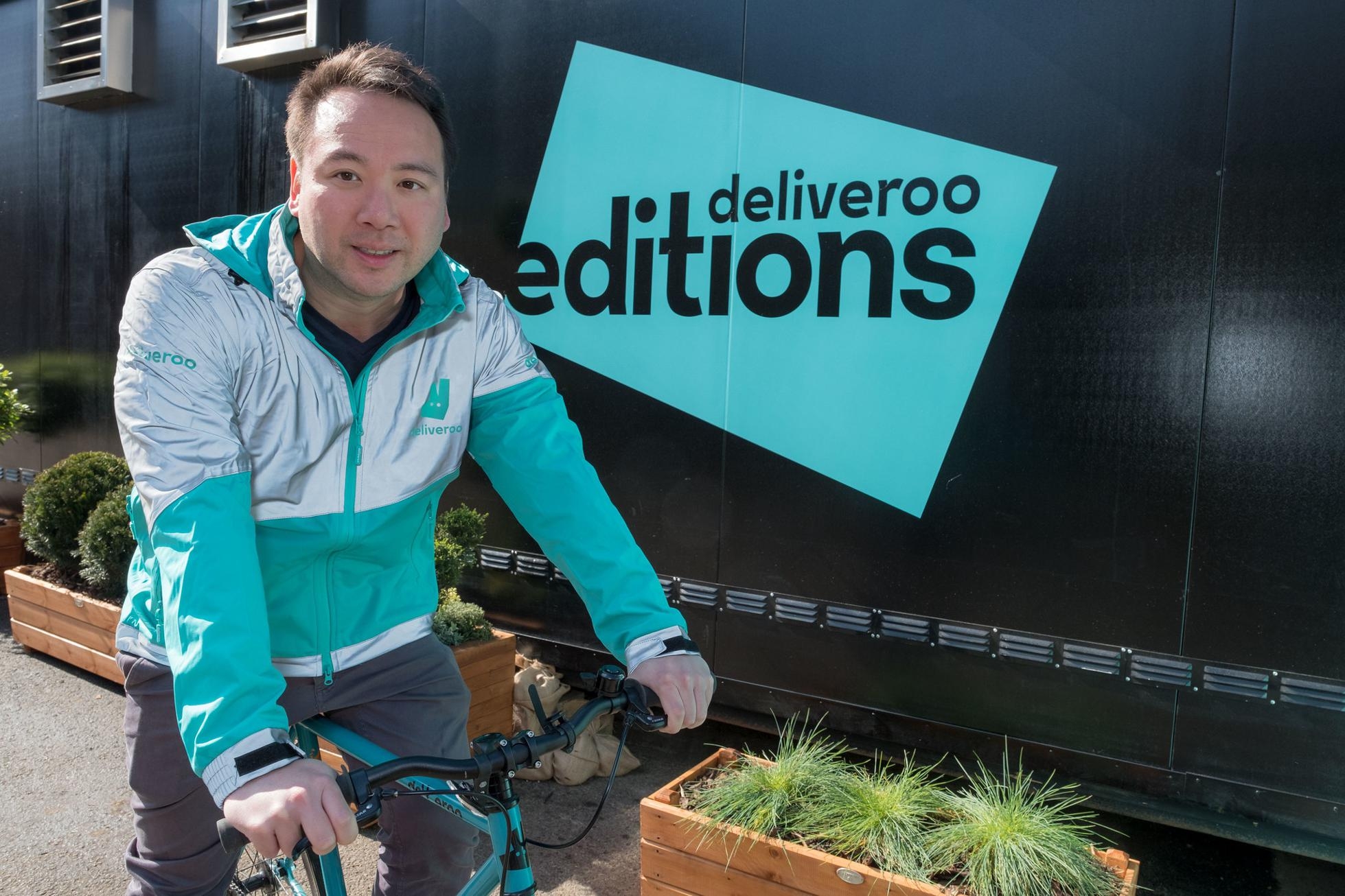 Deliveroo founder and CEO Will Shu