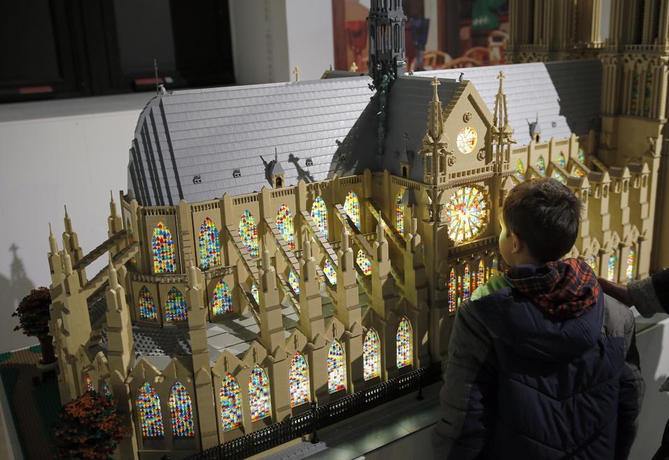 Lego Exhibition At Paris City Hall