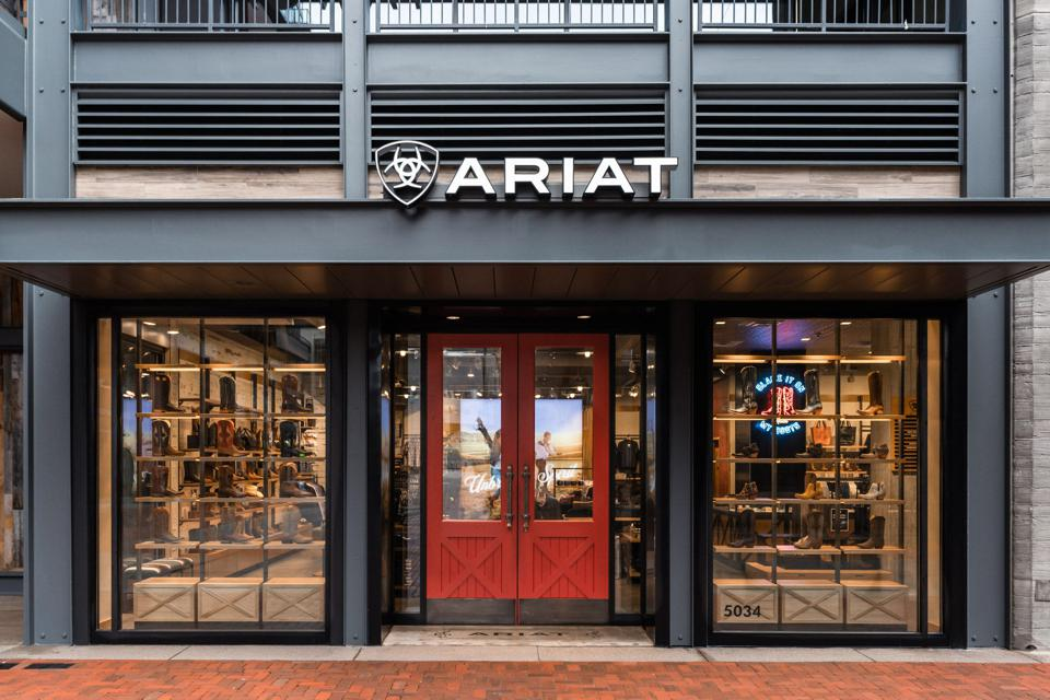 Ariat, a western footwear and apparel company, has made its way to Nashville.