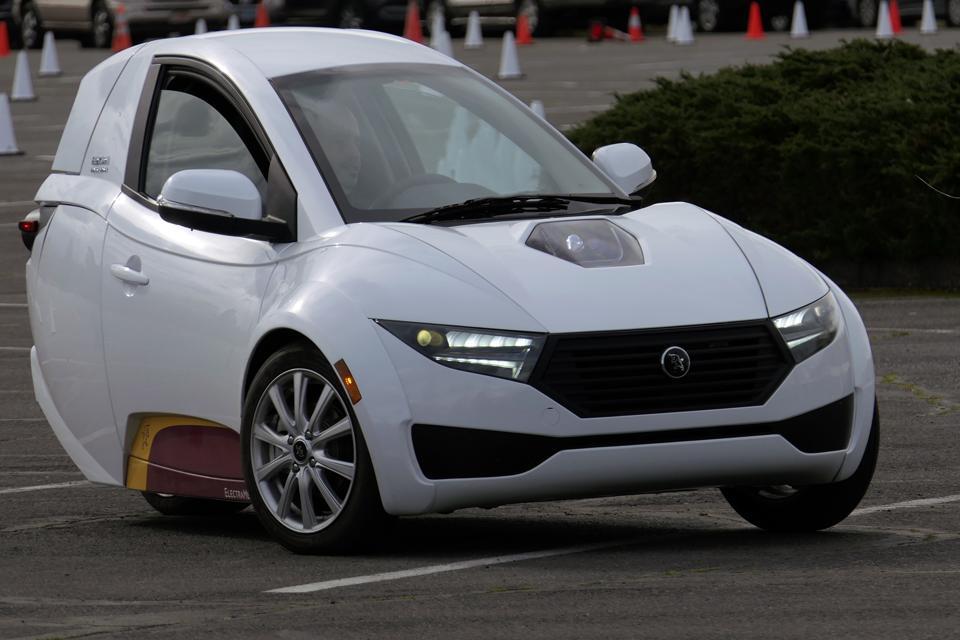 ElectraMeccanica Solo EV electric car
