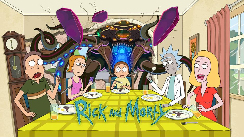 Promotional image for Rick and Morty Season 5