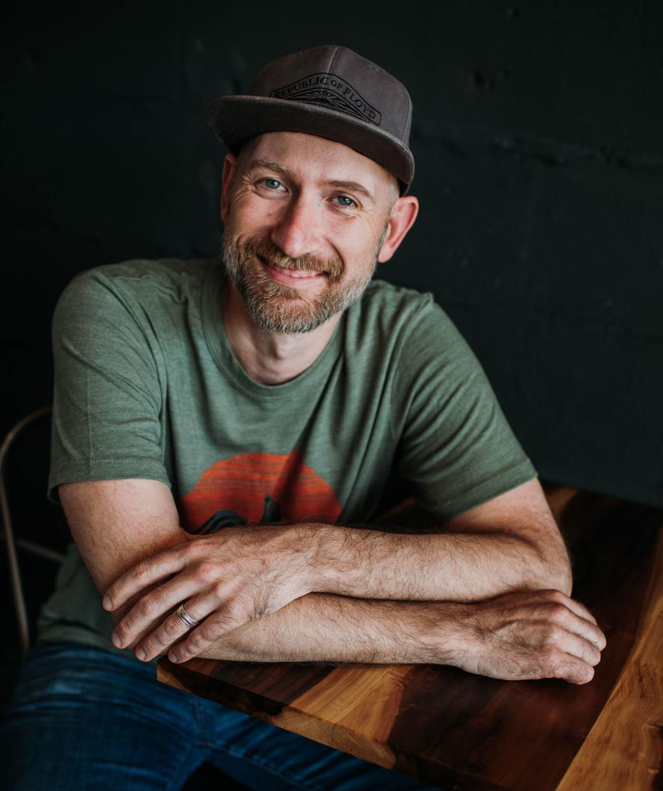 Haden Polseno-Hensley, co-owner and co-founder of Red Rooster Coffee