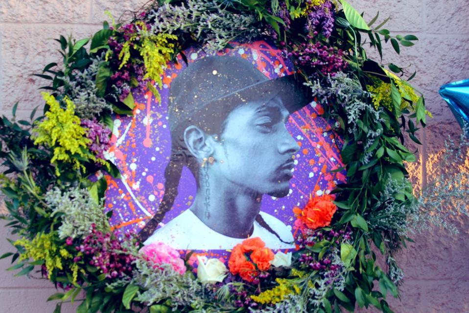 Nipsey Hussle's memorial
