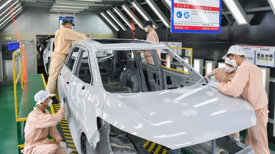 Haima Automobile Factory In Haikou