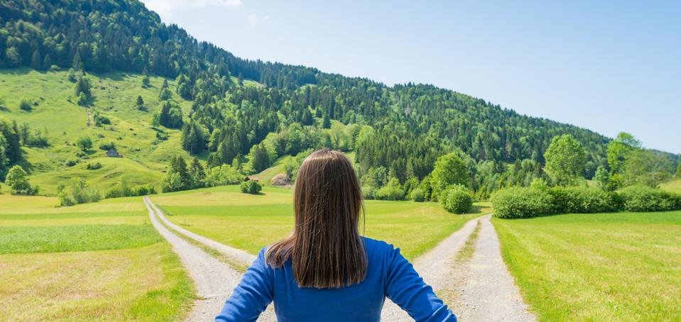 Finding yourself at a career crossroads can be both terrifying and exhilarating.
