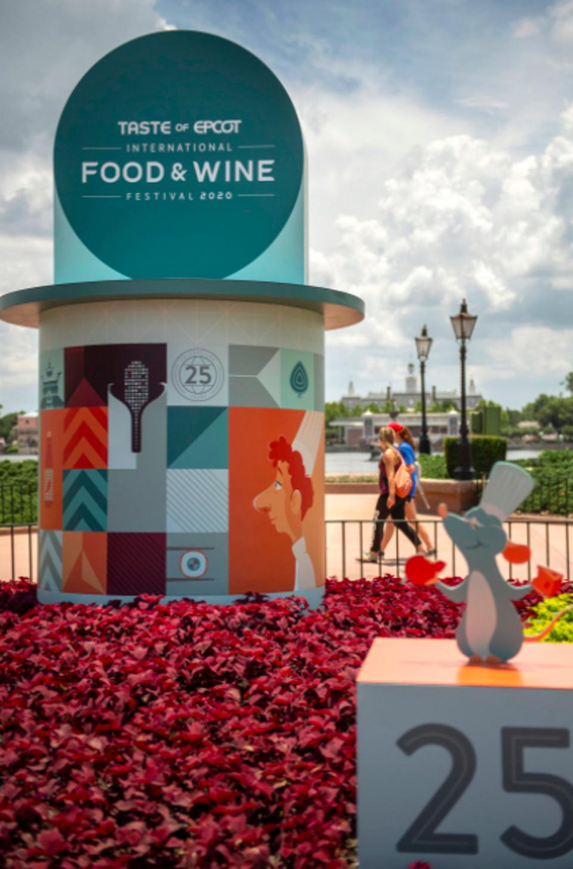 Taste of EPCOT International Food & Wine Festival entrance