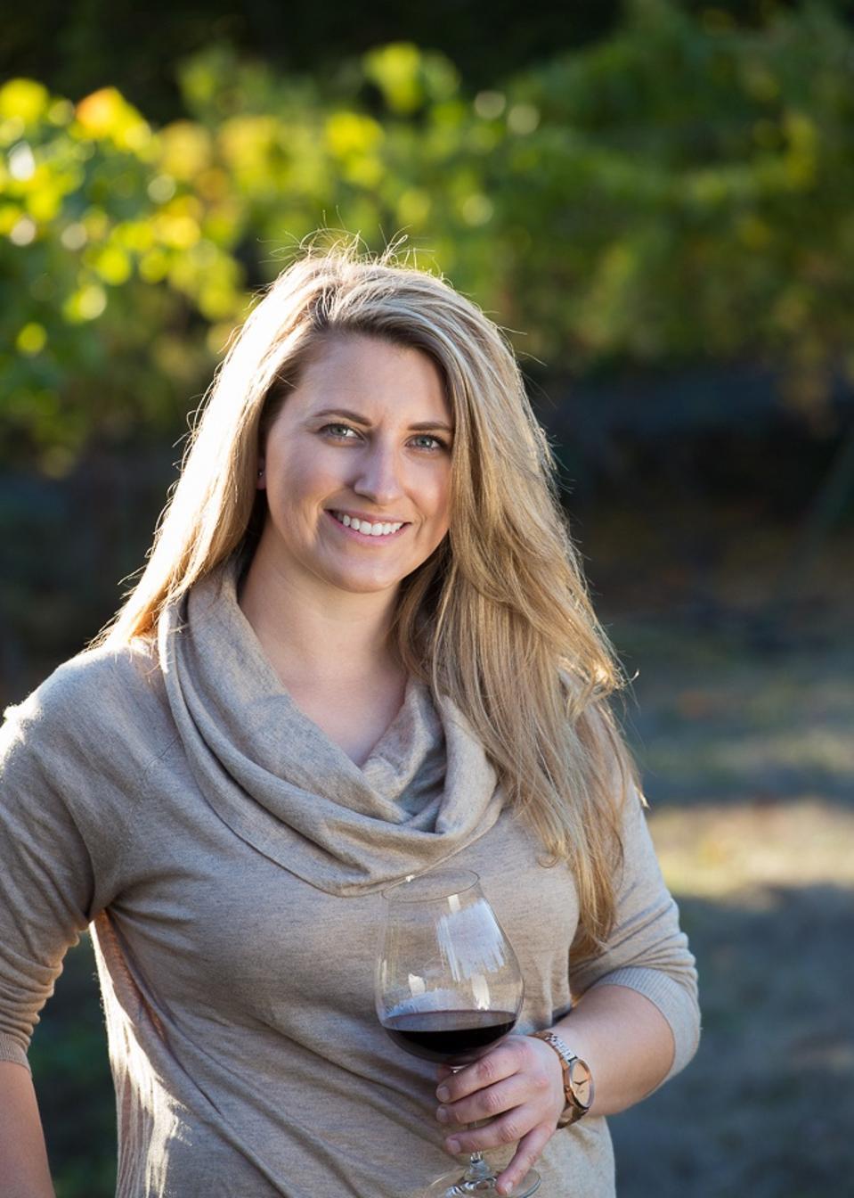 Headshot of Erica Stancliff for Pfendler Vineyards in Petaluma Gap