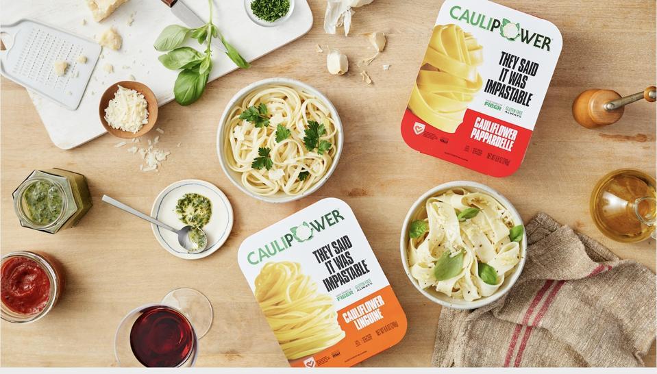 CAULIPOWER introduces cauliflower pasta.
