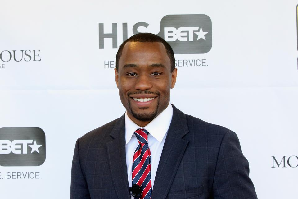 Marc Lamont Hill at BET HIS Town Hall
