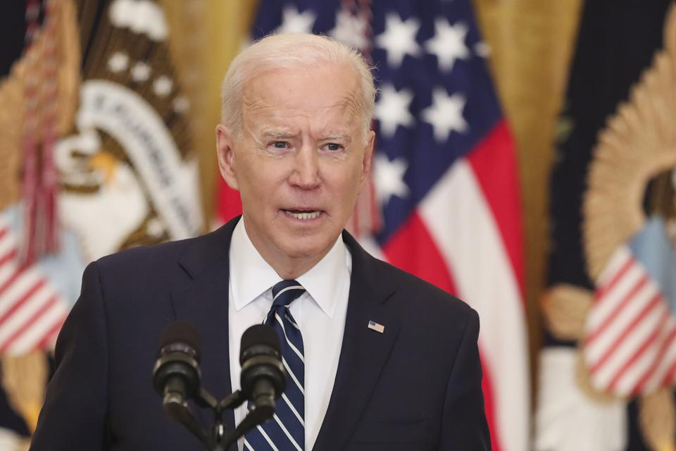 President Biden's News Conference Debut Puts Border, Guns, Covid In Focus