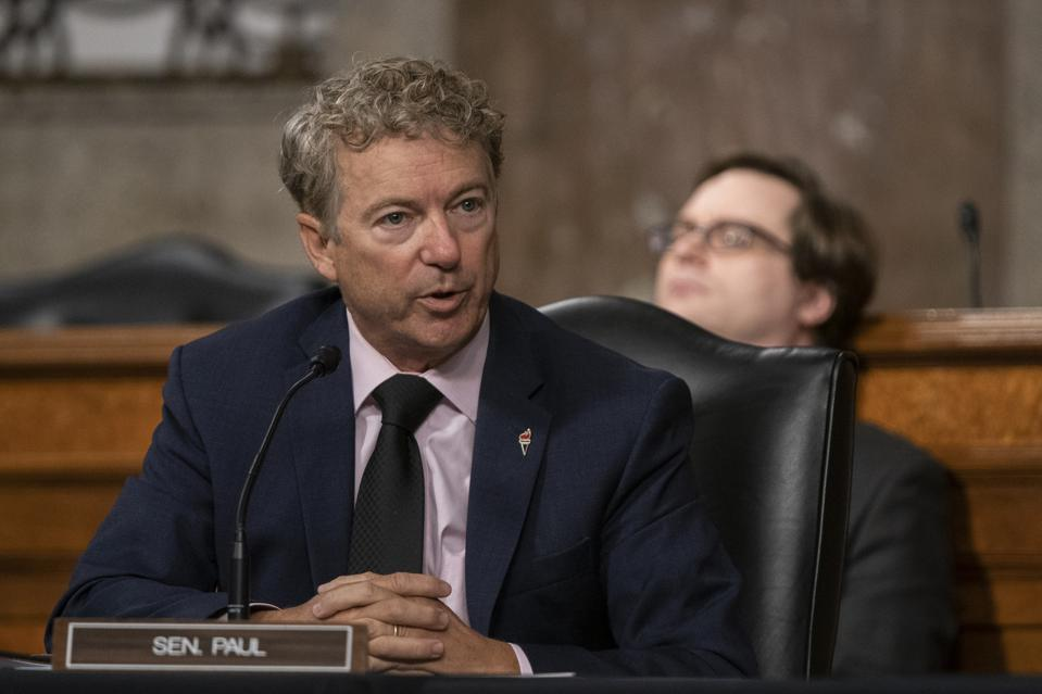 Rand Paul questions Anthony Fauci.