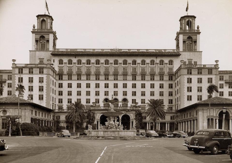 Vintage photo of the legendary property
