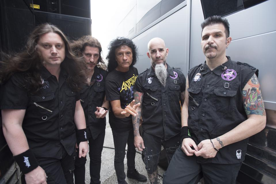 Portrait de bande Anthrax