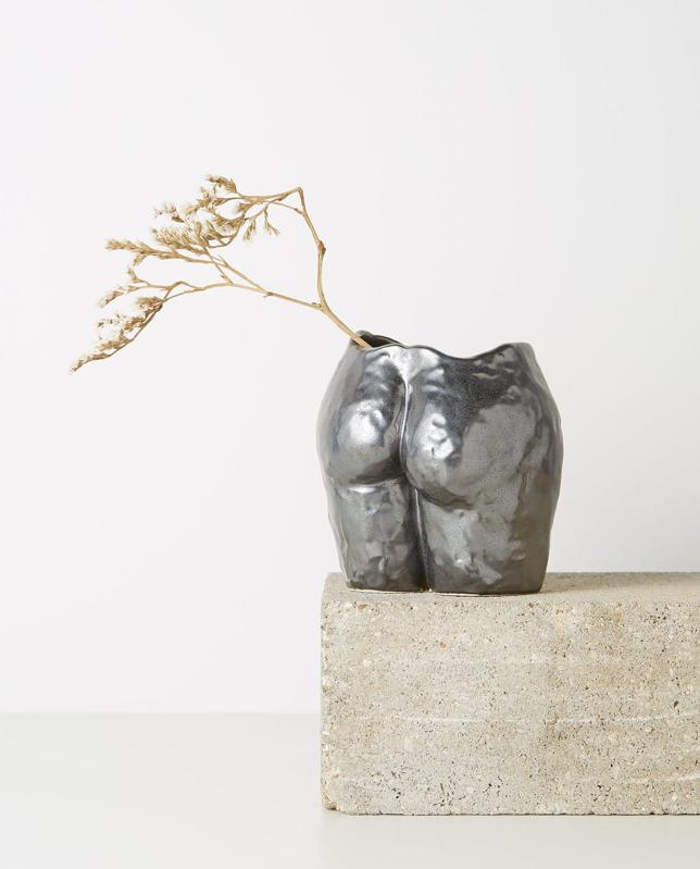 Popotin Ceramic Vase by Anissa Kermiche: