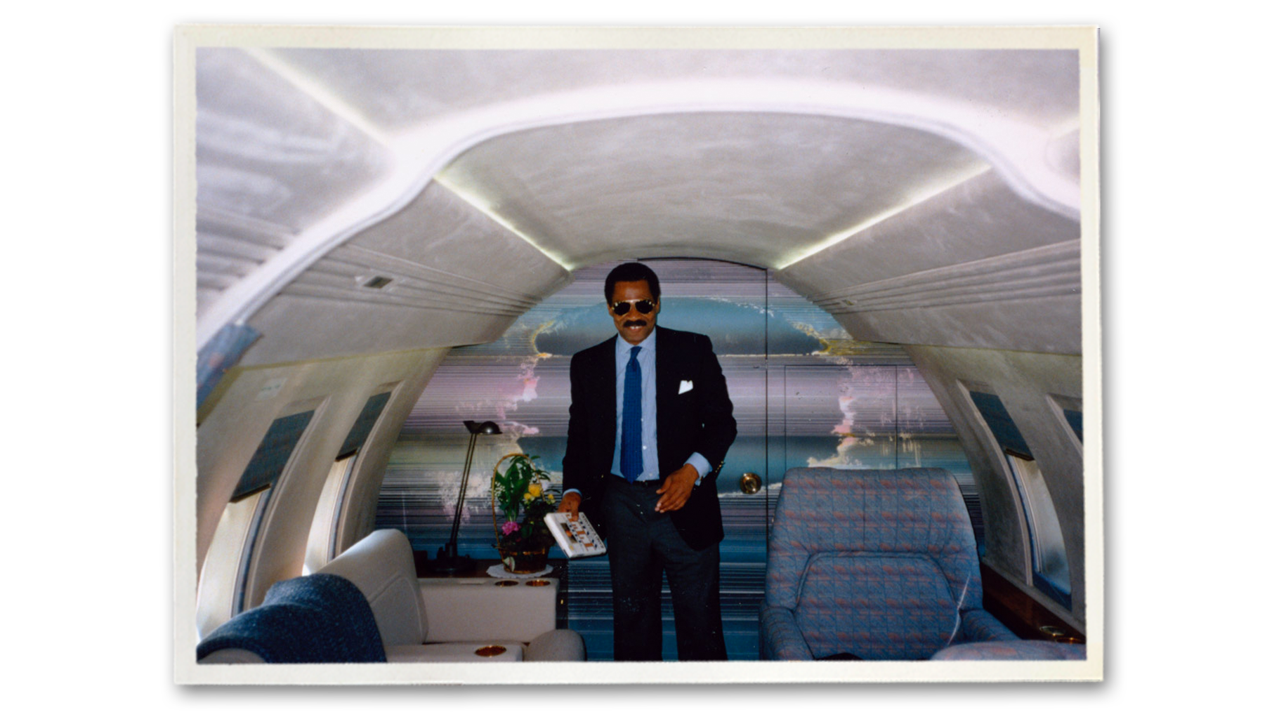 Reginald Lewis private jet.