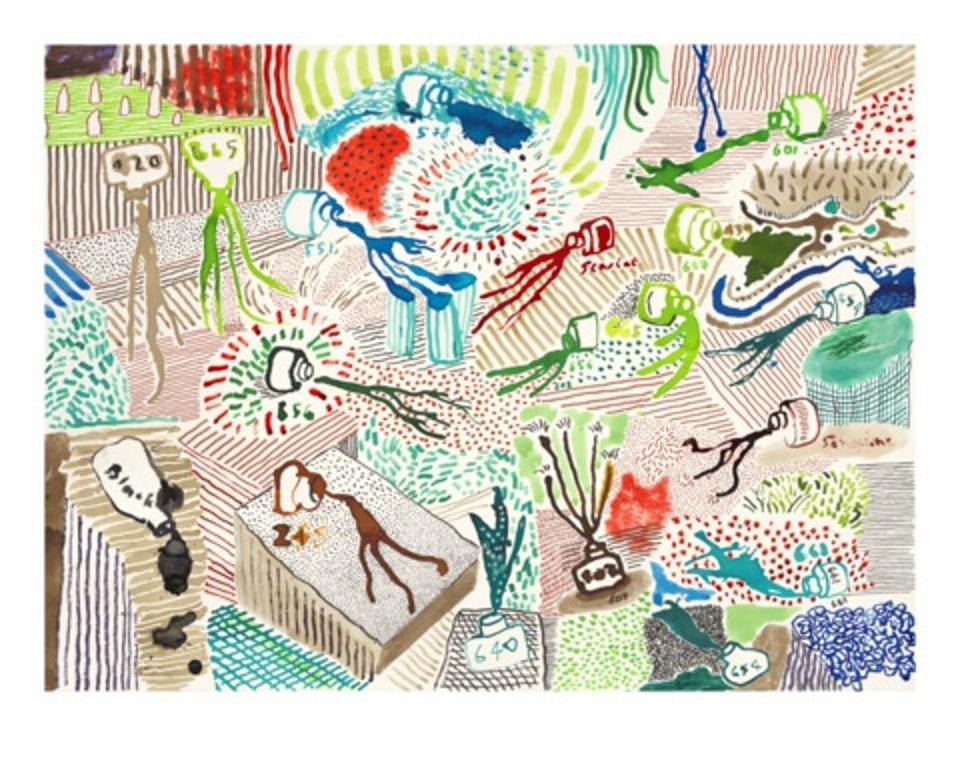Hockney print