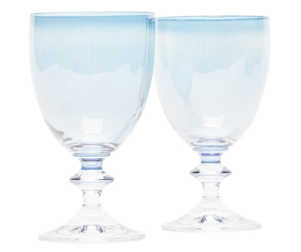 Set of Two Wine Glasses by Luisa Beccaria