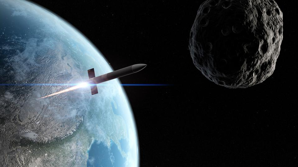 Asteroid defence missile, artwork  - 960x0 - The UK Launches Space Command