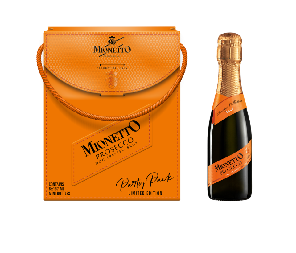 Mionetto is a Prosecco from Italy