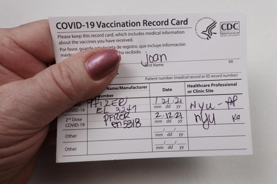 Fiche de vaccination