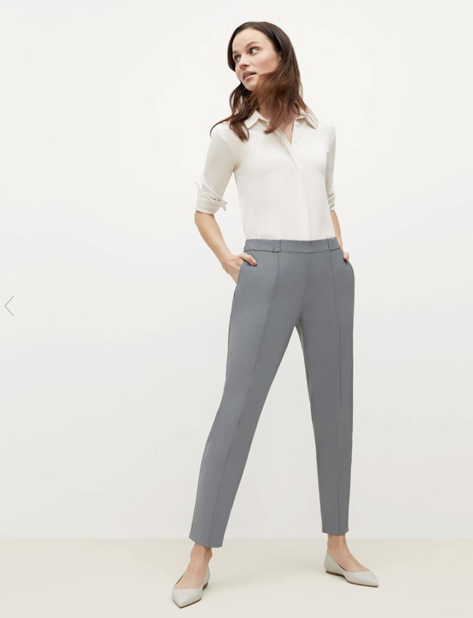 The Best Suit For Women: The Colby Jogger—OrigamiTech - Dusky Blue