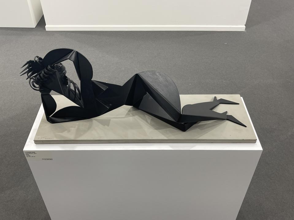 Lying Woman, 2012 by Hussein Madi - Mark Hachem Gallery (New York, Paris, Beirut) at Art Dubai 2021