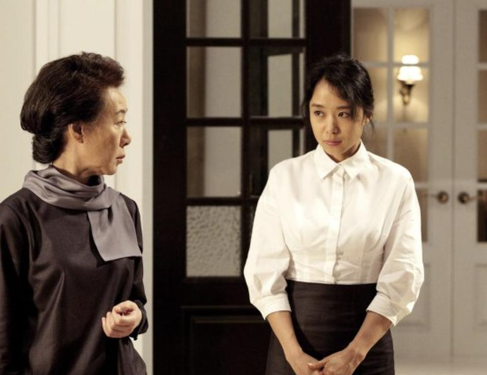 A new nanny disrupts the order maintained by Youn's character in 'The Housemaid.'