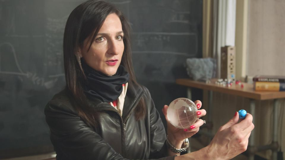Sara Seager, a planetary expert and physics professor at the Massachusetts Institute of Technology, in a scene from The Hunt for Planet B, directed by Nathaniel Kahn.