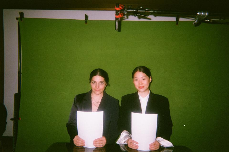 Céline Semaan and Sophia Li, hosts of ″All Of The Above″ show.