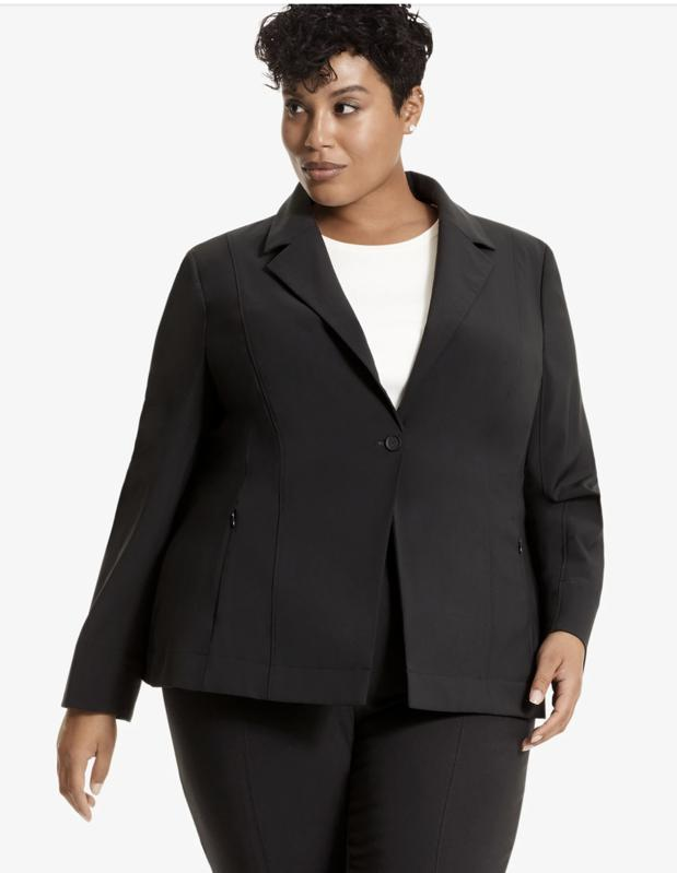 The Best Suit For Women: The Moreland Jacket—OrigamiTech - Dusky Blue