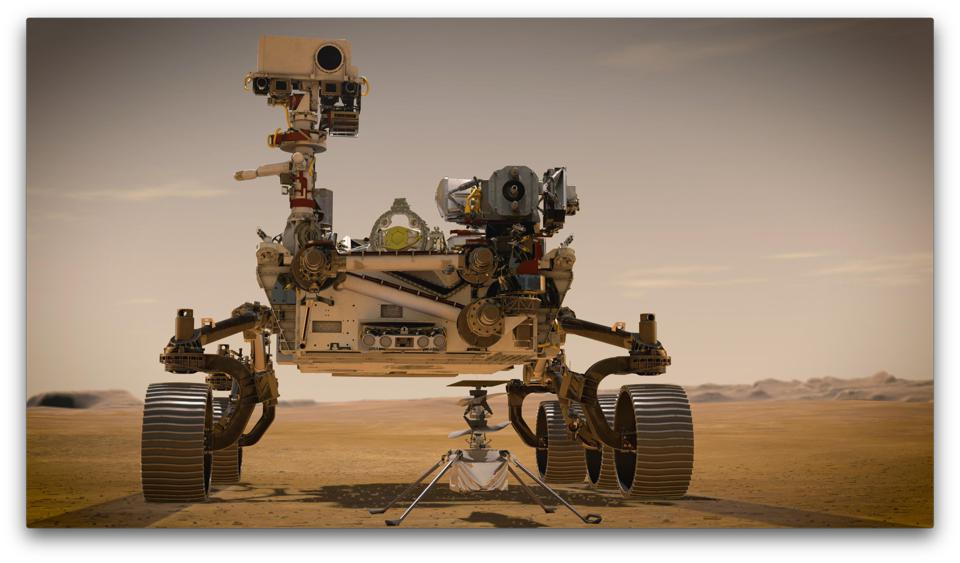 Perseverance is the most sophisticated rover NASA has ever sent to Mars. Ingenuity, a technology experiment, will be the first aircraft to attempt controlled flight on another planet.
