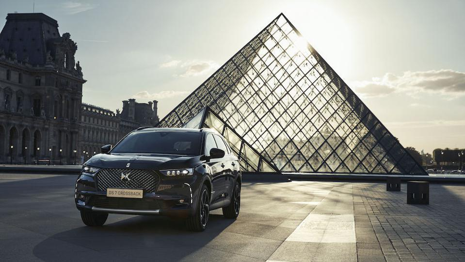 DS 7 Crossback Louvre limited-edition model